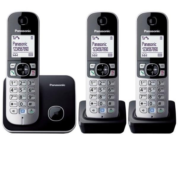 Panasonic KX-TG6813 שנתיים אחריות עברית