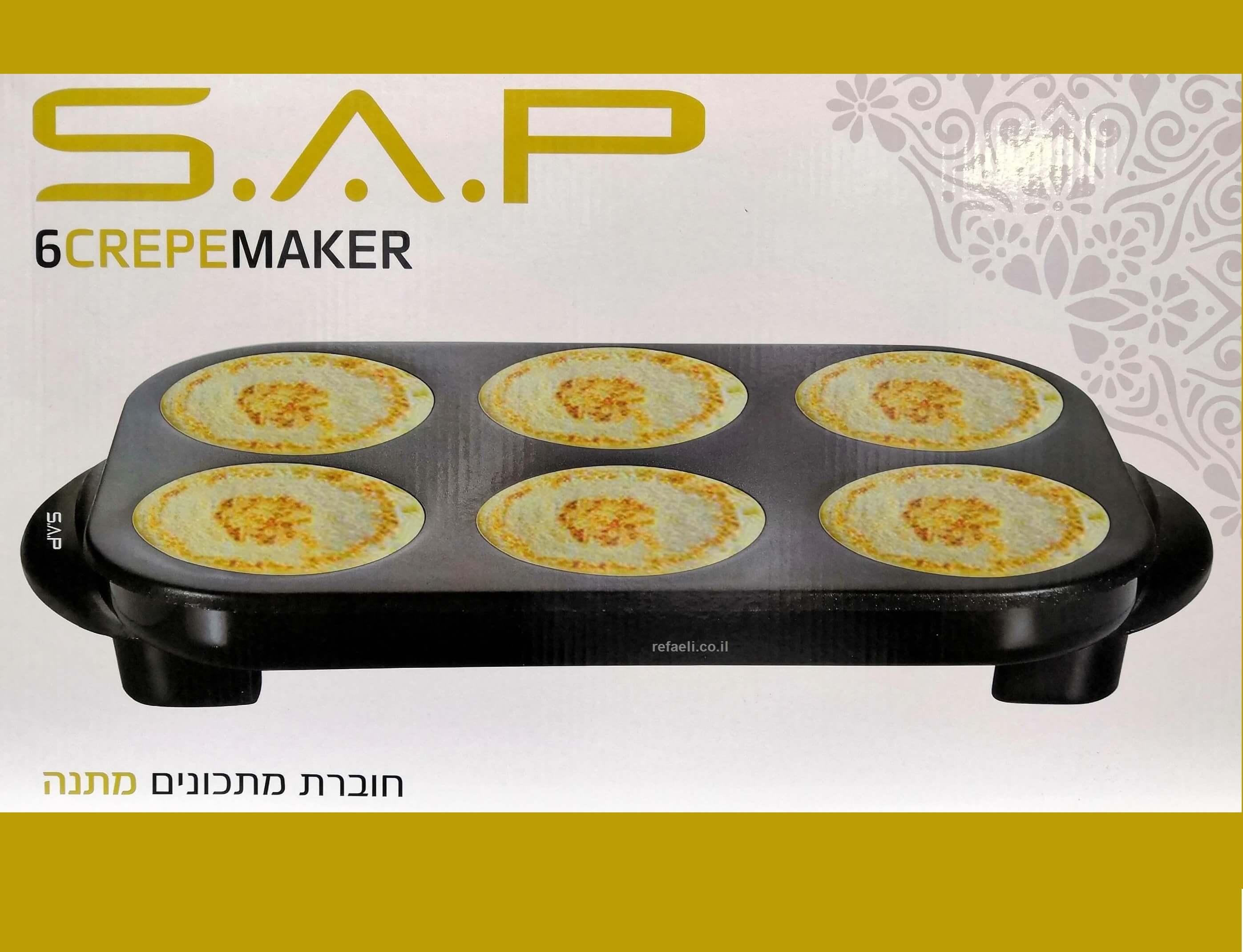מכשיר להכנת פנקייק SAP F-021