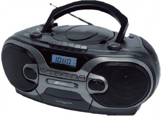 מערכת שמע כולל טייפ  USB דגם Sansui SAN-4110