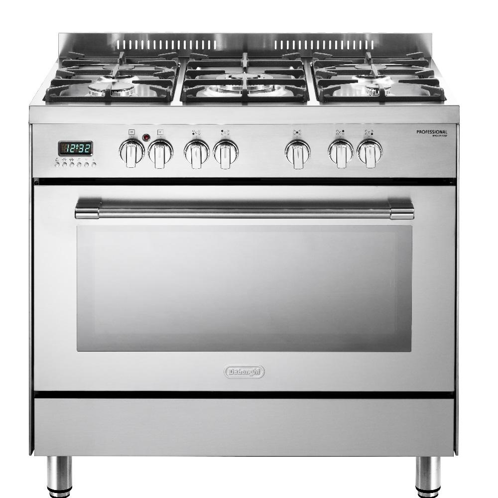 תנור משולב כיריים Delonghi NDS940X
