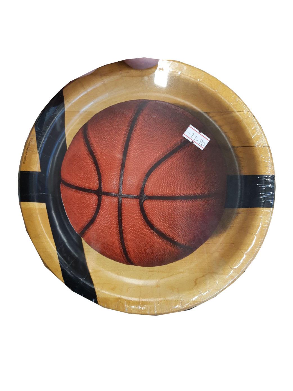 צלחות כדורסל
