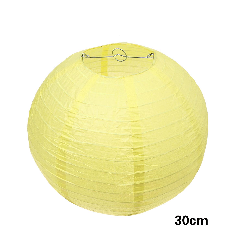 אהיל צהוב לימון קוטר 30 ס