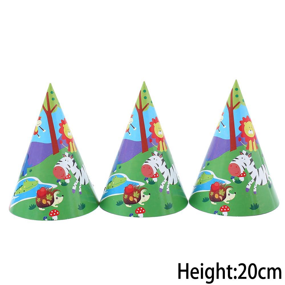 מסיבת ג'ונגל - כובעי מסיבה