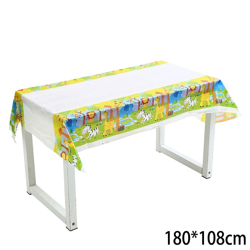 מסיבת ג'ונגל - מפת שולחן