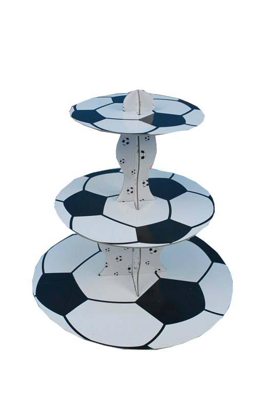 מגש שלוש קומות כדורגל