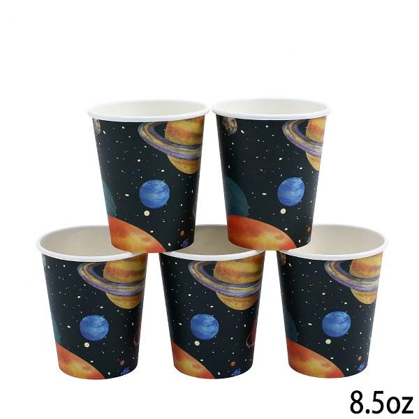 מסיבת חלל - כוסות נייר