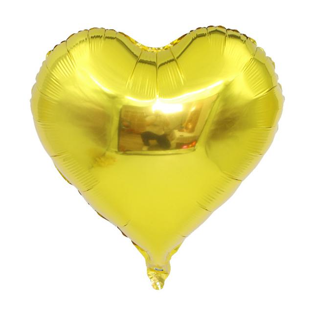בלון מיילר לב זהב - 24 אינץ