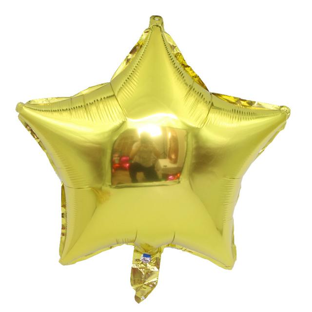 בלון מיילר כוכב זהב - 18 אינץ