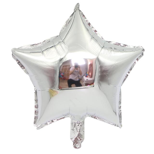 בלון מיילר כוכב כסף - 18 אינץ