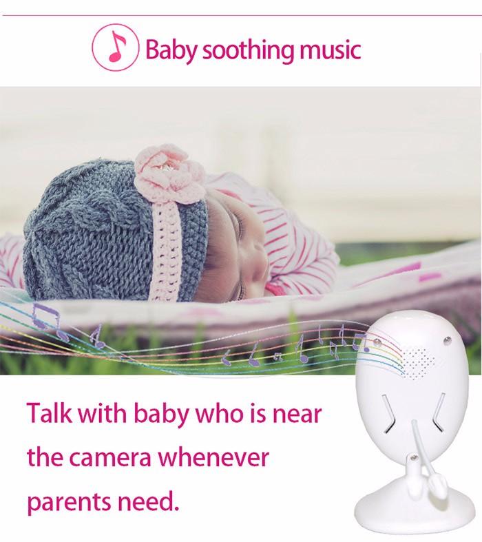מכשיר בייבי סיטר משדר וידאו וקול