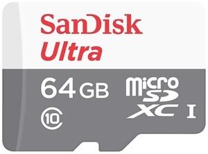 כרטיס זיכרון מיקרו micro sd Ultra CLASS 10 64GB