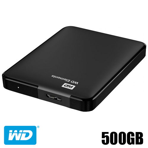 דיסק קשיח חיצוני Western Digital USB3 500GB