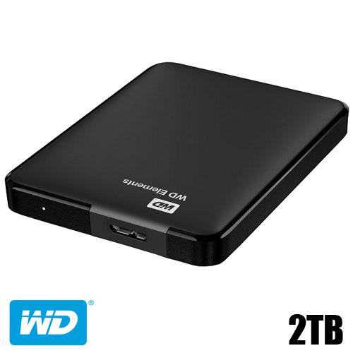דיסק קשיח חיצוני Western Digital 2TB USB3