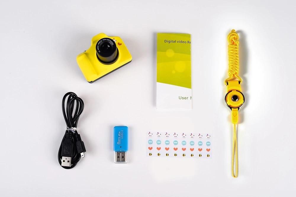 מצלמה זעירה עם מסך 5MP