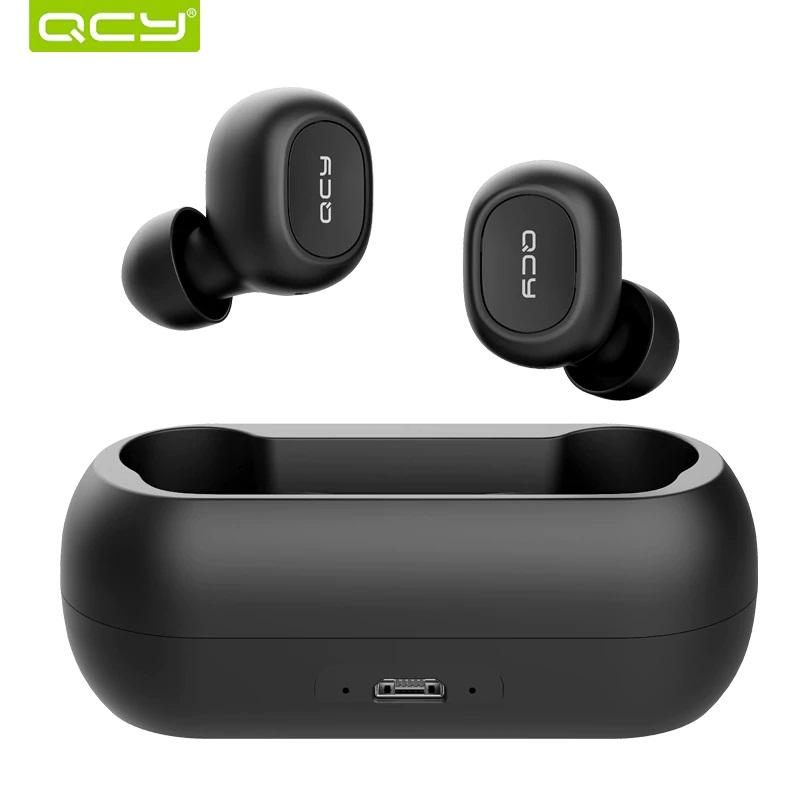 אוזניות בלוטוס זוג איכותיות במיוחד QCY QS1 T1C TWS Bluetooth V5.0