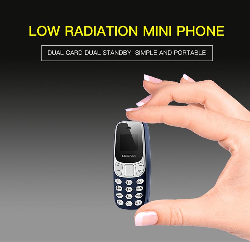 מכשיר סלולרי מיני הקטן בעולם דמוי נוקיה 3310