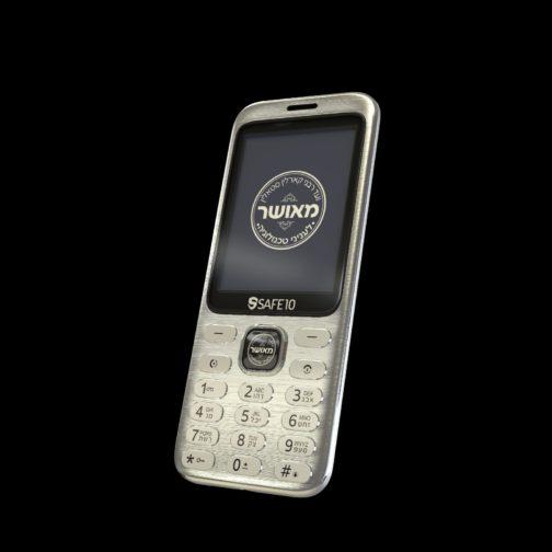 פלאפון מאושר safe10 ממתכת חזק במיוחד עם נגן ומצלמה