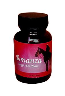 Bonanza - בוננזה בטבליות לגבר - לתפקוד מיני