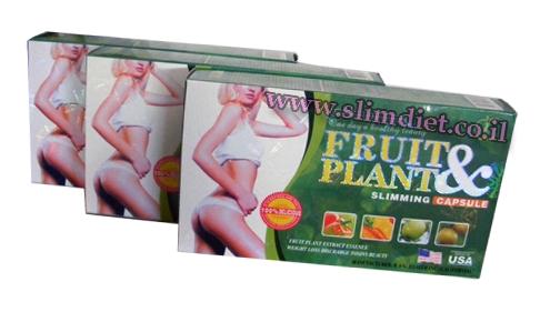 3 בקבוקי fruit&plant