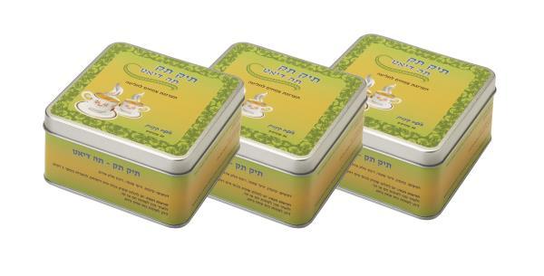 3 אריזות תה להורדת משקל בטעם קינמון