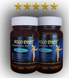 2 בקבוקים SOLO DIET  חדש !