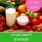 דיאטה מהירה לצמחונים