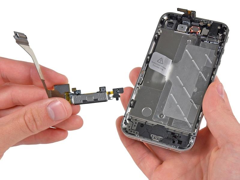 שקע טעינה אייפון 4