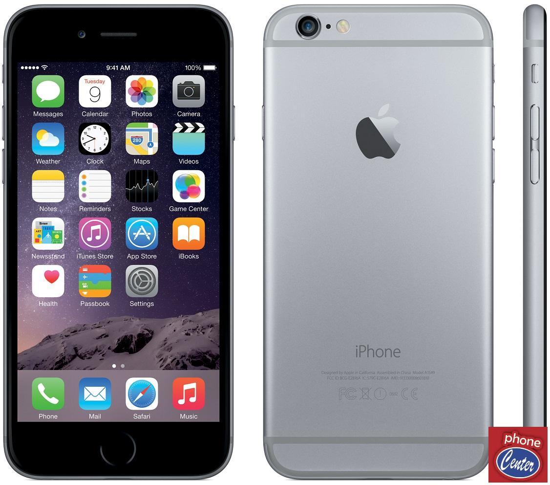 אייפון 6 32G אפור אחריות היבואן הרשמי