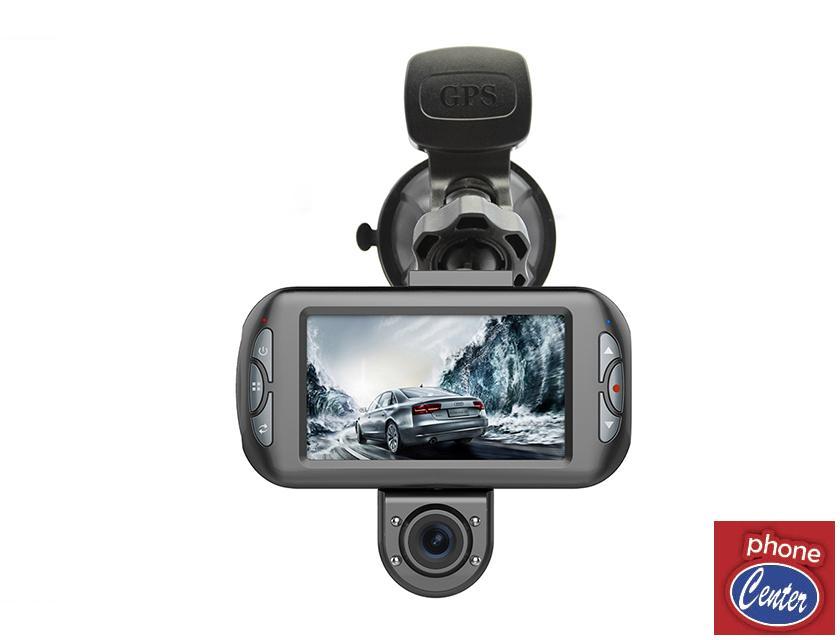 מצלמה דו כיוונית לרכב בעלת GPS מובנה Discovery 990
