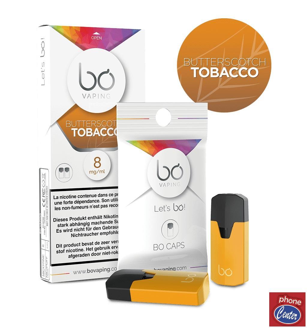 מארז זוג פודים בטעם Butterscotch Tobacco