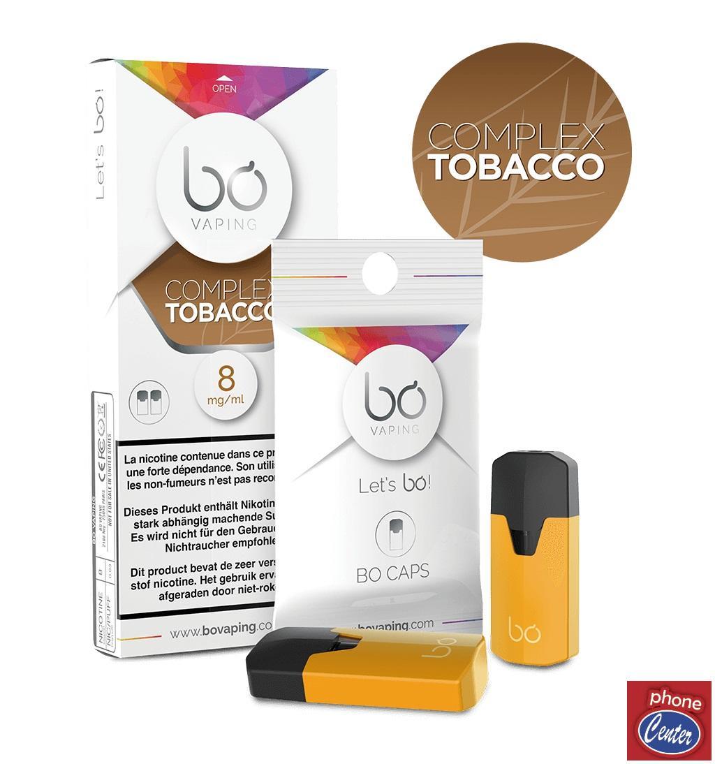 מארז זוג פודים בטעם Complex Tobacco