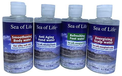 מי ים המלח ושמנים אתרים