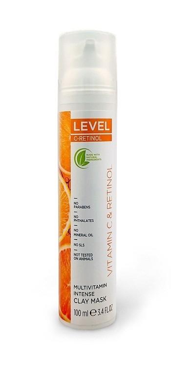 מסכת חימר אינטנסיבית מולטי ויטמין C-RETINOL 100 מ
