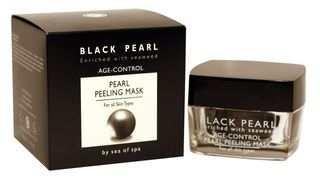 פנינה שחורה  מסכת פילינג נגד הזדקנות עור סי אוף ספא