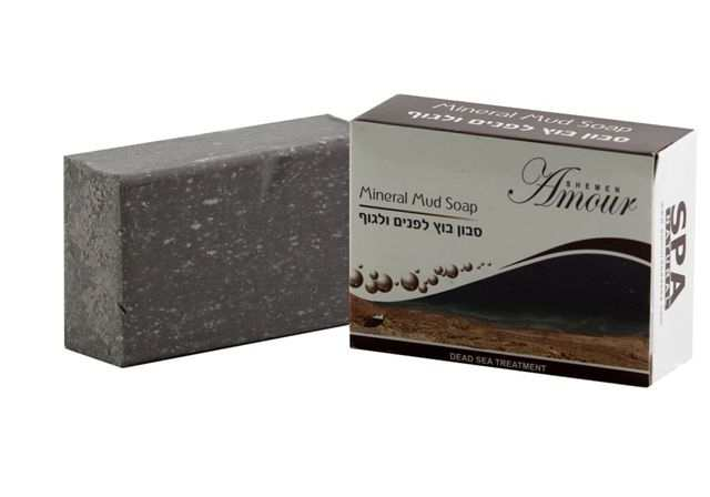 סבון בוץ לפנים ולגוף שמן המור ים המלח