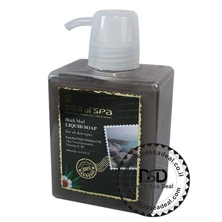סבון  בוץ נוזלי מוצרי ים המלח