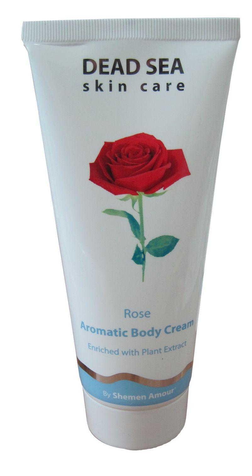 קרם גוף ארומטי ורדים