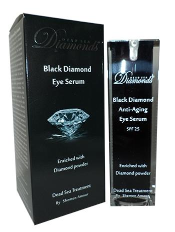 סרום עינים יהלום שחור מוצרי ים המלח