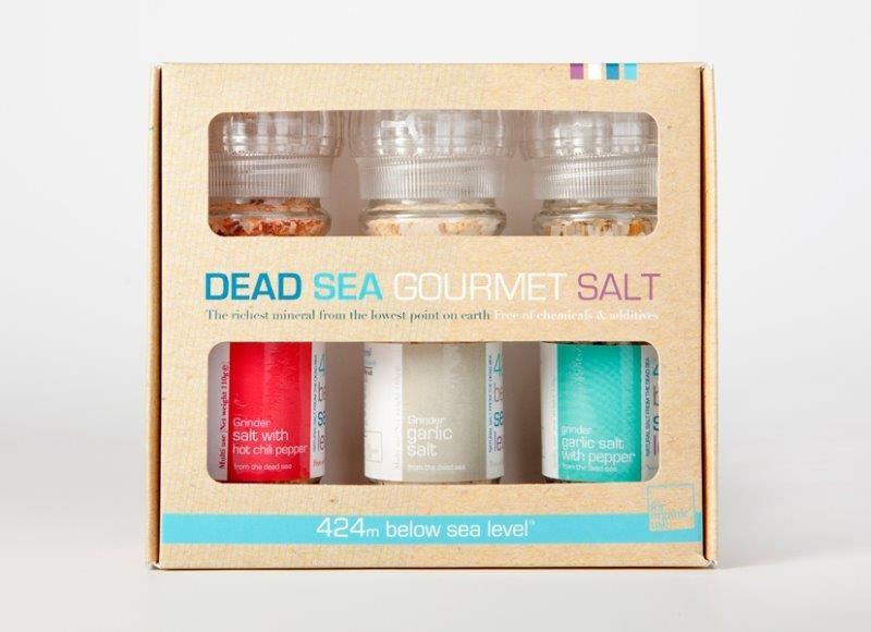 מלח ים המלח במארז אקזוטי קלאסי
