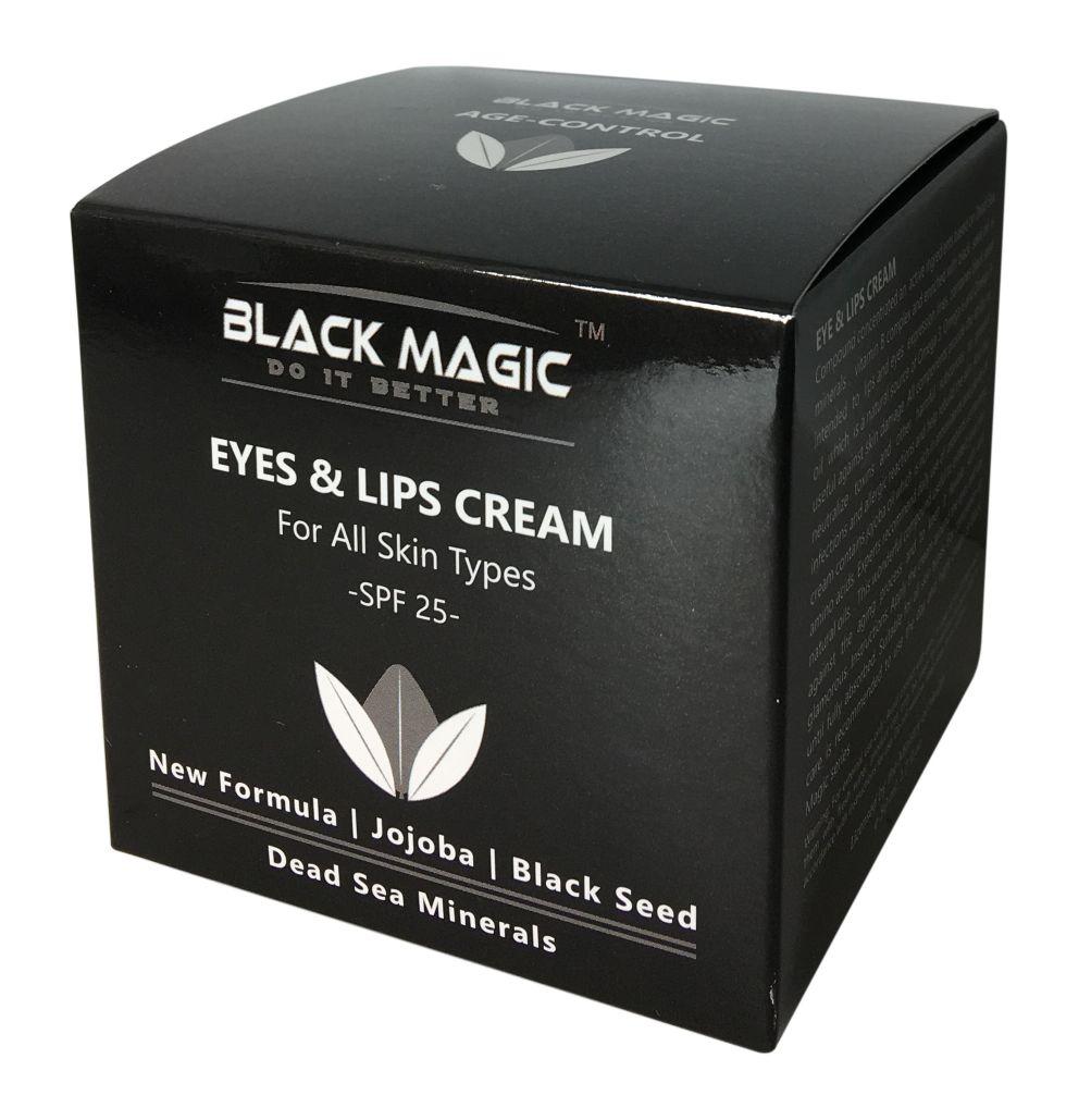 קרם עניים ושפתיים בלאק מגיק Black Magic