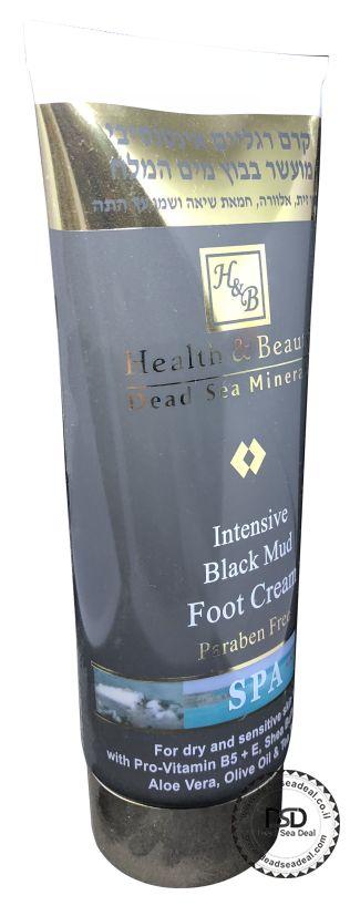 קרם רגליים עם בוץ הלט ביוטי