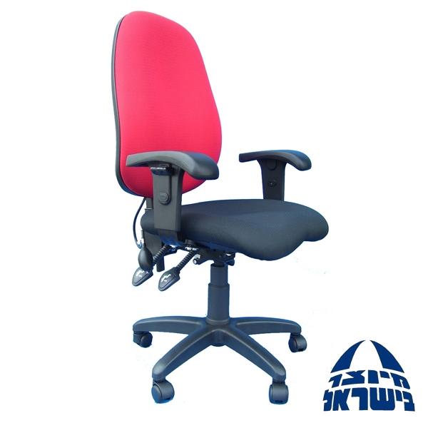 כסא אורטופדי מומלץ לבעיות גב כולל מושב אנטומי ושרוול לחץ דגם פילאטיס