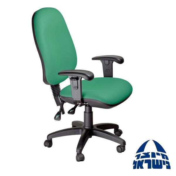 כסא משרדי אורטופדי עם שרוול לחץ ומושב אנטומי דגם סופיריור