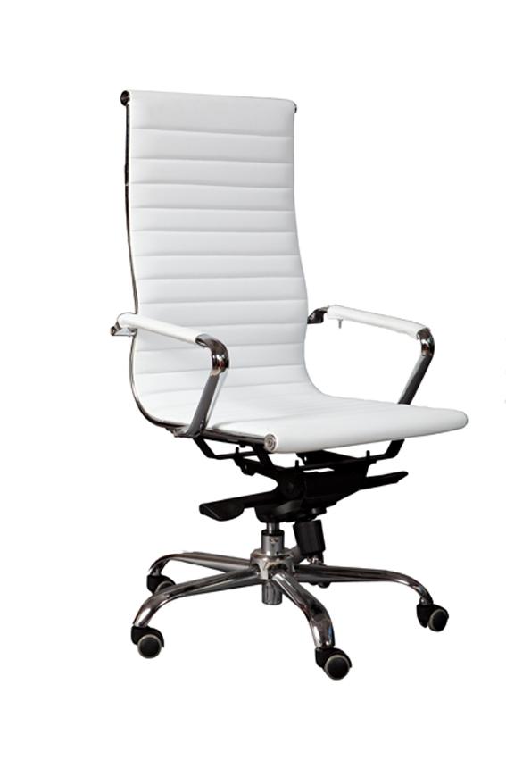 כיסא מנהלים לבן מעוצב  דגם טנריף