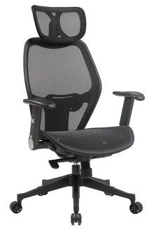 כסא מנהל רשת מעוצב  לעובד לישיבה בריאה מול עמדת מחשב