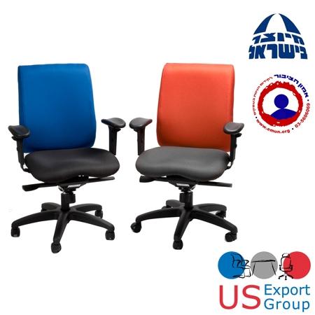 כסא אורטופדי למניעת בעיות גב דגם קוואטרו