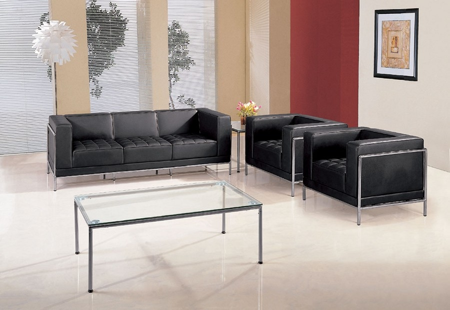כורסאות המתנה וישיבה מעוצבות של תלת/דו/חד מושבי