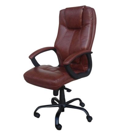 כסא מנהלים יוקרתי דגם מרטיני חום