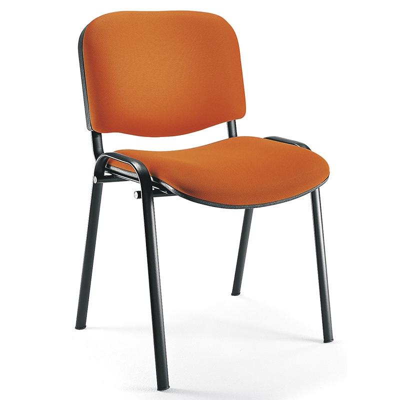 כסא אורח מרופד נערם דגם סינדי