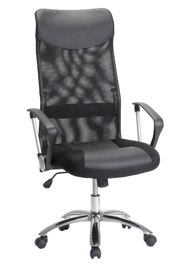 כסא מנהלים ארגונמי גב רשת  משענת גבוהה דגם טוסון